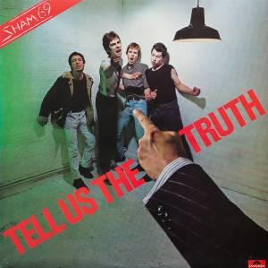 Sham 69: Tell Us The Truth - Cover