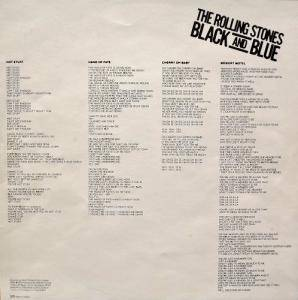 The Rolling Stones: Black And Blue (LP) - Bild 8