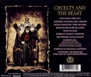 Cradle Of Filth: Cruelty And The Beast (CD) - Bild 2