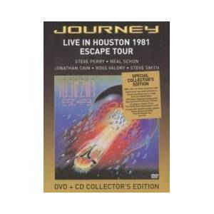 Journey: Live In Houston 1981 Escape Tour - Cover