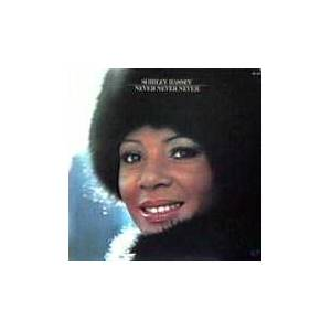 Shirley Bassey: Never, Never, Never - Cover