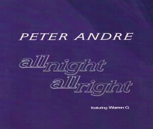 Cover - Peter André: All Night All Right