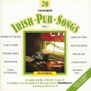 Cover - Fair Isle Folk: 20 Favourite Irish Pub Songs Volume 1