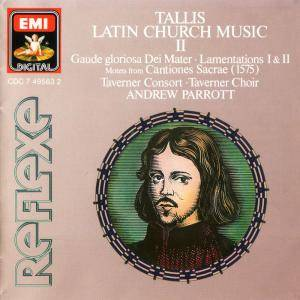 Cover - Thomas Tallis: Latin Church Music II