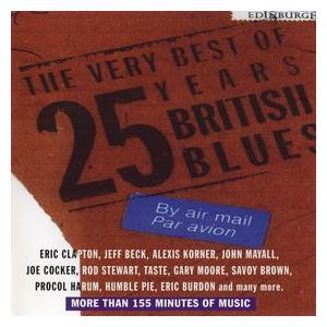 Very Best Of 25 Years British Blues, The - Cover
