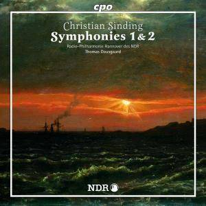 Cover - Christian Sinding: Symphonies 1 & 2