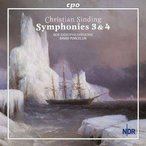 Cover - Christian Sinding: Symphonies 3 & 4