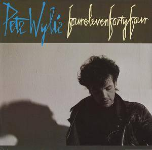 Cover - Pete Wylie: Fourelevenfortyfour