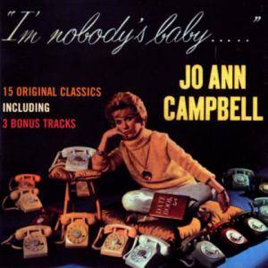 Cover - Jo Ann Campbell: I'm Nobody's Baby...