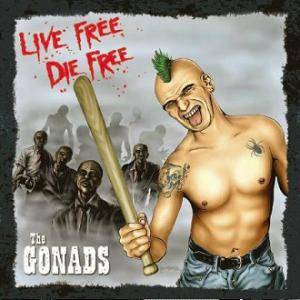 Cover - Gonads, The: Live Free, Die Free