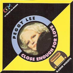Cover - Peggy Lee: Close Enough For Love