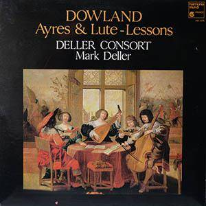 Cover - John Dowland: Ayres & Lute - Lessons