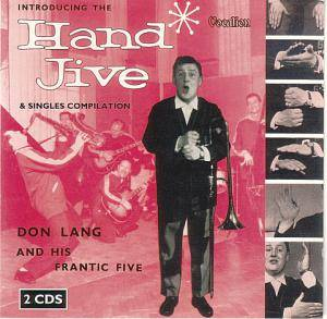 Cover - Don Lang: Introducing The Hand Jive & Singles Compilation