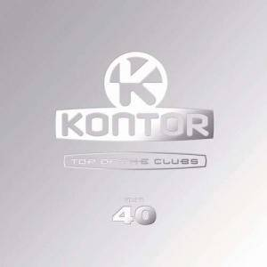 Kontor - Top Of The Clubs Vol. 40 - Cover