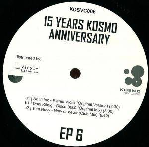 Cover - Tom Novy: 15 Years Kosmo Anniversary EP 6