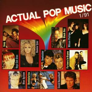 Cover - Partners In Kryme: Actual Pop Music 1/91