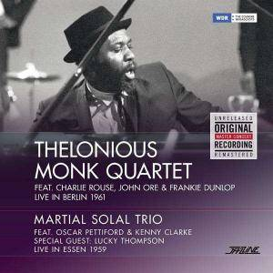 Thelonious Monk Quartet: Live In Berlin 1961 / Live In Essen 1959 - Cover