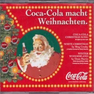 coca cola macht weihnachten promo cd 1996. Black Bedroom Furniture Sets. Home Design Ideas