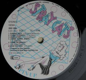 Stray Cats: Stray Cats (LP) - Bild 3