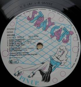 Stray Cats: Stray Cats (LP) - Bild 4