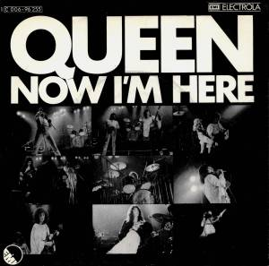 Queen: Now I'm Here - Cover