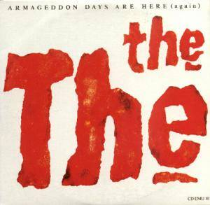 The The: Armageddon Days Are Here (Again) - Cover