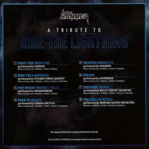 Metallica - A Tribute To Ride The Lightning (CD) - Bild 2