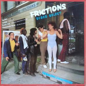 Frictions Disco Select - Cover