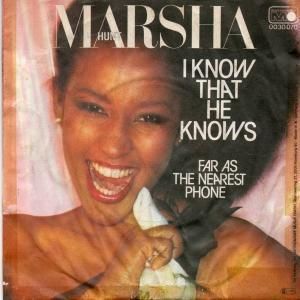 Marsha Hunt: I Know That He Knows - Cover