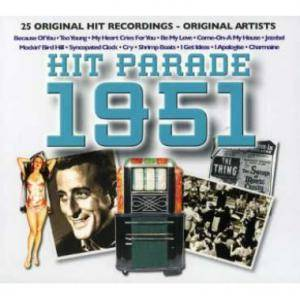 Cover - Florian Zabach: Hit Parade 1951