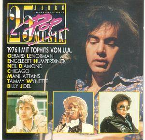 25 Jahre Internationale Popmusik 1976 - Cover
