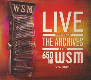 Live From The Archives Of 650 AM WSM Volume 1 - Cover