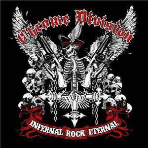 Chrome Division: Infernal Rock Eternal - Cover