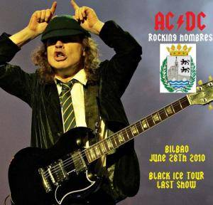 AC/DC: Rocking Hombres - June 28th 2010, Bilbao - Cover