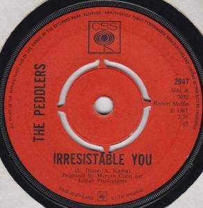 Cover - Peddlers, The: Irresistable You