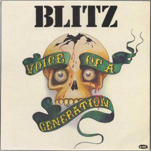 Blitz: Voice Of A Generation - Cover