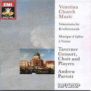 Cover - Alessandro Grandi: Venetian Church Music