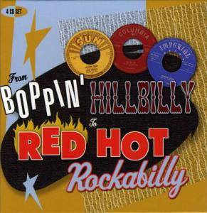 Cover - Johnny Hicks: From Boppin' Hillbilly To Red Hot Rockabilly