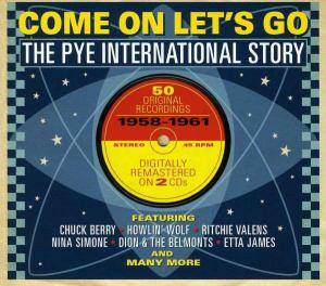 Cover - Edsels, The: Come On Let's Go - The Pye International Story