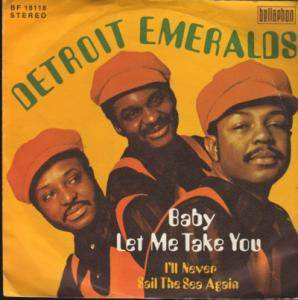 Cover - Detroit Emeralds: Baby Let Me Take You