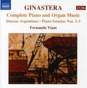Cover - Alberto Ginastera: Complete Piano and Organ Music