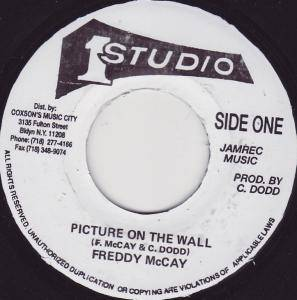 Cover - Freddie McKay: Picture On The Wall