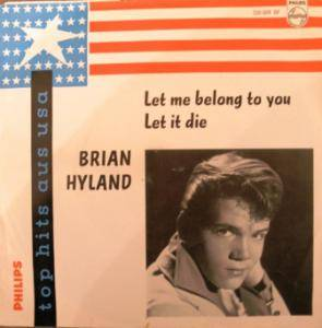 Cover - Brian Hyland: Let Me Belong To You