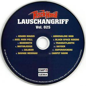 Rock Hard - Lauschangriff Vol. 025 (CD) - Bild 3