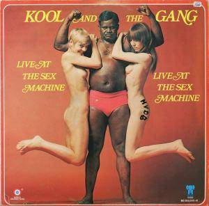 Kool & The Gang: Live At The Sex Machine - Cover