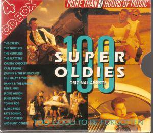 Cover - Esquires, The: 100 Super Oldies - Too Good To Be Forgotten