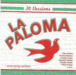 Cover - Richard Tauber: 20 Versions La Paloma One-Song Edition