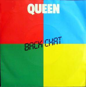 Queen: Back Chat - Cover