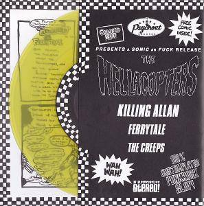 The Hellacopters: Killing Allan - Cover