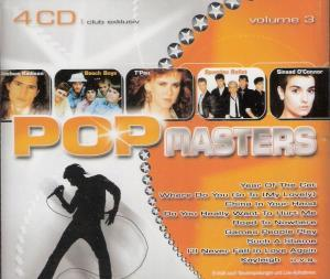 Pop Masters - Volume 3 - Cover